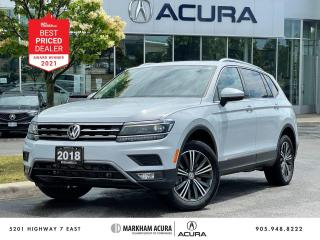 Used 2018 Volkswagen Tiguan Highline w/ 4MOTION for sale in Markham, ON
