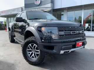 Used 2013 Ford F-150 SVT RAPTOR 4WD ROUSH SUPERCHARGED BORLA EXT for sale in Langley, BC