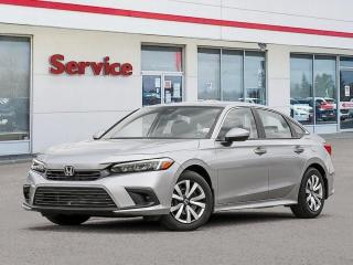 Used 2022 Honda Civic LX|Demo|Save Thousands|Like New for sale in Brandon, MB