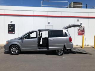 Used 2014 Dodge Grand Caravan 30TH ANNIVERSARY-MOBILITY WHEELCHAIR VAN-ONLY 98KMS for sale in Toronto, ON