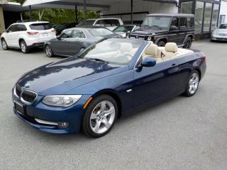 Used 2011 BMW 3 Series 2dr Cabriolet 335i RWD for sale in Burnaby, BC