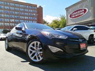 Used 2013 Hyundai Genesis Coupe COUPE   PREM PKG   2.0T   LEATHER  ROOF   4 NEW SNOW TIRES* for sale in Scarborough, ON