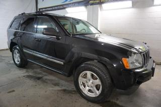 Used 2007 Jeep Grand Cherokee LIMITED 4WD HEMI NAVI CAMERA DVD CERTIFIED 2YR WARRANTY *FREE ACCIDENT* SUNROOF BLUETOOTH HEATED LEATHER SENSORS for sale in Milton, ON