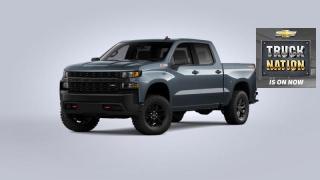New 2021 Chevrolet Silverado 1500 Custom Trail Boss for sale in Orleans, ON