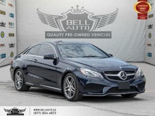 Used 2017 Mercedes-Benz E-Class E 400, AWD, AMG, Coupe, Navi, 360Cam, Pano, NoAccident for sale in Toronto, ON