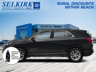 New 2021 Chevrolet Equinox LT  -  Power Seats -  Heated Seats for sale in Selkirk, MB