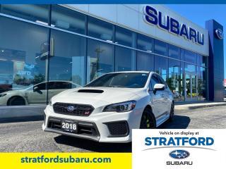 Used 2018 Subaru WRX STI for sale in Stratford, ON