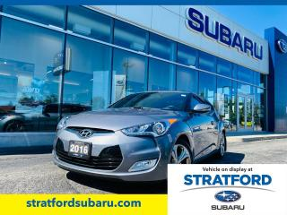 Used 2016 Hyundai Veloster Tech for sale in Stratford, ON