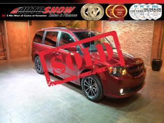 Used 2019 Dodge Grand Caravan GT - DVD, Nav, Pwr Slides, Htd Wheel & Lthr !! for sale in Winnipeg, MB
