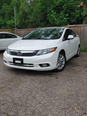 Used 2012 Honda Civic EX-L for sale in Mississauga, ON