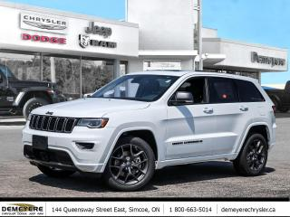 New 2021 Jeep Grand Cherokee 80TH ANNIVERSARY EDITION | TOW PKG for sale in Simcoe, ON