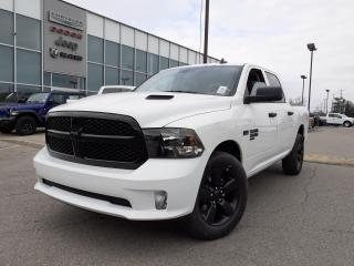 New 2021 RAM 1500 Classic NIGHT EDITION CREW CAB HEATED SEATS SPORT HOOD for sale in Pickering, ON
