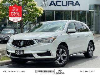 Used 2018 Acura MDX SH-AWD for sale in Markham, ON