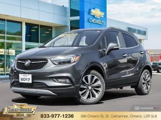 Used 2017 Buick Encore Essence for sale in St Catharines, ON