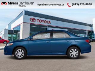 Used 2013 Toyota Corolla CE  -  Power Windows -  Power Doors - $96 B/W for sale in Ottawa, ON