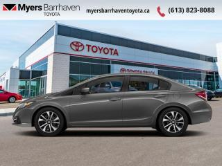 Used 2014 Honda Civic Sedan EX  - Sunroof -  Bluetooth - $68 B/W for sale in Ottawa, ON