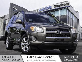 Used 2012 Toyota RAV4 4WD Limited REAR CAMERA LEATHER SUN ROOF for sale in Scarborough, ON