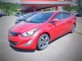 Used 2014 Hyundai Elantra Limited for sale in Saint John, NB