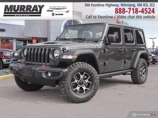 New 2021 Jeep Wrangler Unlimited Rubicon 4x4 for sale in Winnipeg, MB