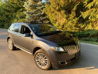 Used 2013 Lincoln MKX TOP OF THE LINE! ONLY 129,295 KMS!! for sale in Toronto, ON