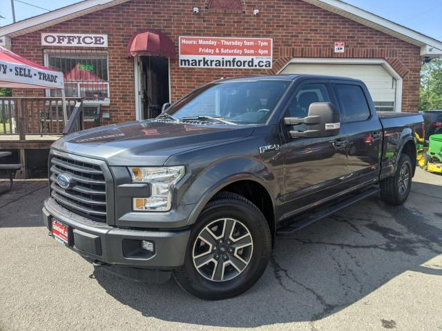 2016 Ford F-150 FX4 Crew 5.0 Litre 4x4 6.5' Box Trailer Package