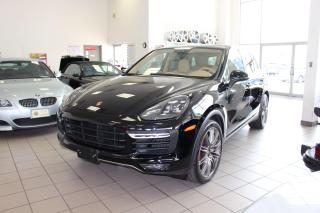 Used 2015 Porsche Cayenne Turbo for sale in Oakville, ON