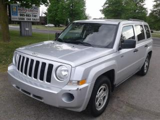 """Used 2008 Jeep Patriot SPORT """"Holy COW""""  NO ACCIDENTS + FREE 6 M WARRANTY for sale in Ajax, ON"""