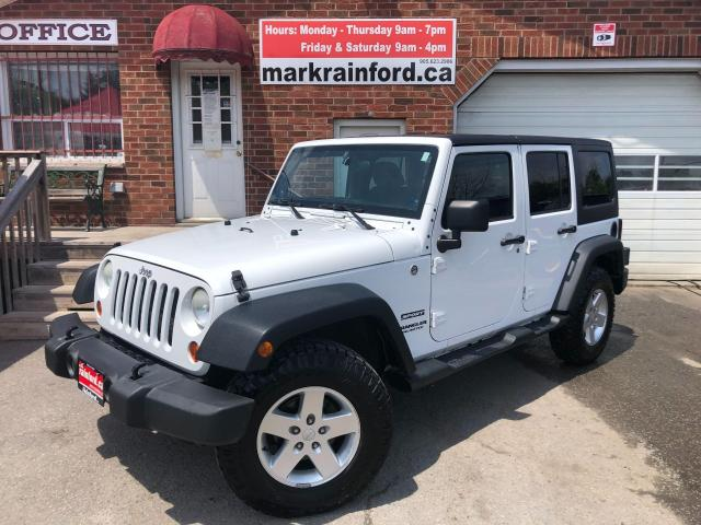2013 Jeep Wrangler Sport Unlimited A/C