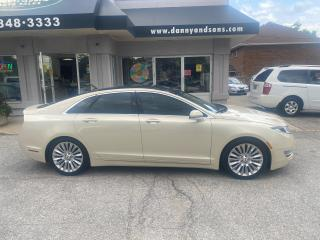 Used 2014 Lincoln MKZ TAUPE METALLIC for sale in Mississauga, ON