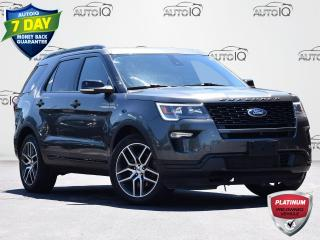 Used 2018 Ford Explorer Sport 4WD | 3.5L V6 | SPORT | DUAL A/C | NAVIGATION | POWER LIFTGATE for sale in Waterloo, ON