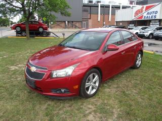 Used 2012 Chevrolet Cruze LTZ Turbo w/1SA ~ LEATHER ~ PUSH START ~ BLUETOOTH for sale in Toronto, ON