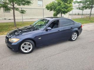Used 2008 BMW 3 Series X Drive, Leather, Sunroof, AWD, Manual for sale in Toronto, ON