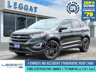 Used 2018 Ford Edge SEL for sale in Stouffville, ON