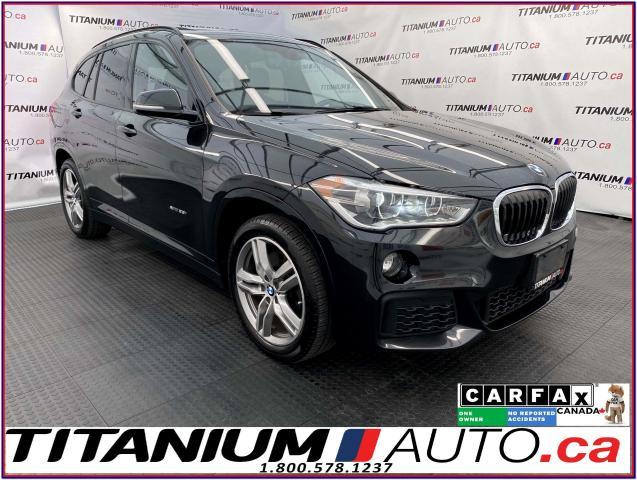 2017 BMW X1 M-PKG+Camera+GPS+Pano Roof+HUD+Power Gate+LED+XM