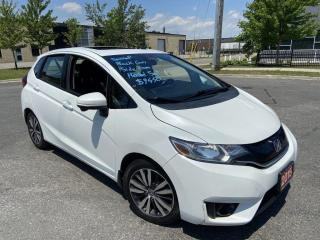 Used 2015 Honda Fit Automatic, Sunroof, 4 Door, Backup Camera, A/C for sale in Toronto, ON