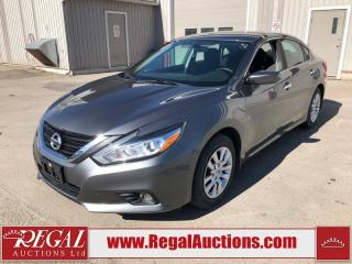 Used 2016 Nissan Altima Base 4D Sedan 2.5L for sale in Calgary, AB