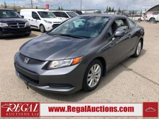 Used 2012 Honda Civic EX 2D Coupe AT 1.8L for sale in Calgary, AB