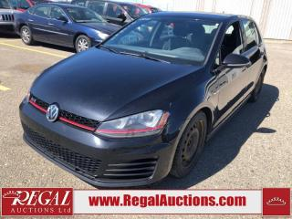 Used 2015 Volkswagen GTI Autobahn 4D HATCHBACK 2.0L for sale in Calgary, AB
