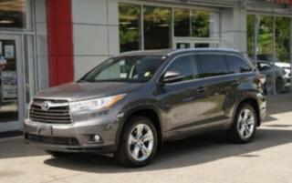 Used 2015 Toyota Highlander Hybrid Limited AWD NAVIGATION/SUNROOF/7PASS for sale in North York, ON