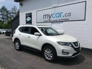 Used 2018 Nissan Rogue SV TECH, PKG, PANOROOF, HEATED SEATS, ALLOYS, WOW!! for sale in Richmond, ON