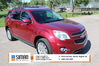 Used 2012 Chevrolet Equinox 2LT LOW KM EXTRA VALUE for sale in Regina, SK