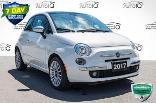 Used 2017 Fiat 500 Lounge VERY CLEAN LOW MILEAGE CAR for sale in Innisfil, ON