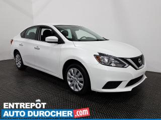 Used 2018 Nissan Sentra SV - Bluetooth - Caméra de Recul - Climatiseur for sale in Laval, QC