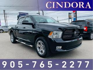 Used 2012 RAM 1500 Sport, Leather, Roof, Tow Package for sale in Caledonia, ON