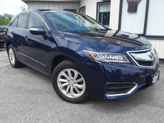 Used 2017 Acura RDX 6-Spd AT AWD w/ Technology Package - LEATHER! NAV! BACK-UP CAM! SUNROOF! BSM! for sale in Kitchener, ON