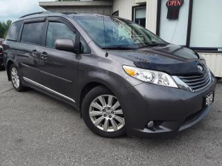 Used 2013 Toyota Sienna XLE FWD 7-Passenger V6 - LEATHER! SUNROOF! BACK-UP CAM! PWR DOORS! for sale in Kitchener, ON