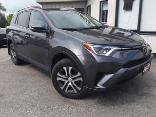 Used 2017 Toyota RAV4 LE AWD - BACK-UP CAM! SAFETY SENSE! LOW KM! for sale in Kitchener, ON