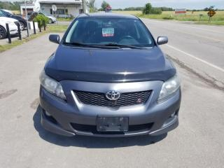 Used 2010 Toyota Corolla S 5 Speed! No Accidents! for sale in Dunnville, ON