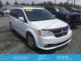 Used 2016 Dodge Grand Caravan Crew Plus for sale in Yarmouth, NS