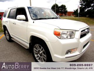 Used 2011 Toyota 4Runner Limited 4WD V6 7 Passenger Accident Free!!! for sale in Woodbridge, ON